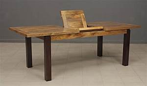 Table Salle Manger Carre Extensible Bois Table Salle