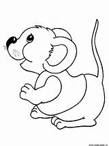 Mouse Coloring Pages Printable Print Mycoloring sketch template