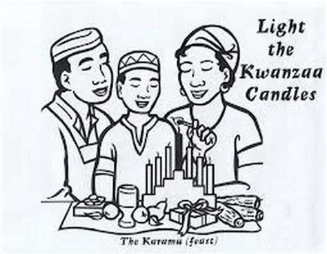 Kwanzaa Symbols Coloring Pages