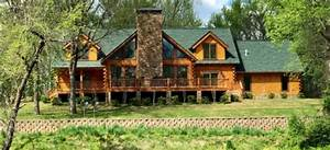 Green Gables: A Log Home on the Little Red River | Real ...