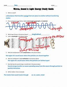 Light Waves Chem Worksheet 5 1 Answer Key