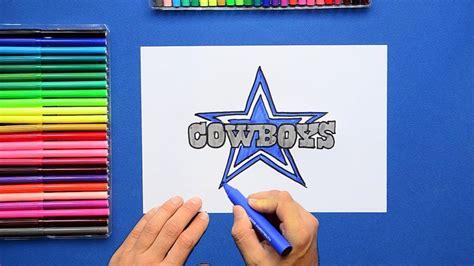 draw  dallas cowboys logo nfl team youtube