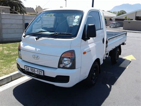 Hyundai H100 Modification by Autonet Helderberg H100 Bakkie H100 2 6d F C D S