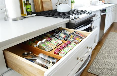 kitchen counter organization how we organized our kitchen cabinets drawers a 3439