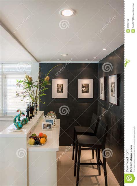 living room bar modern living room with bar style stock photo image 10526