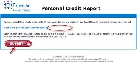 how to get your free credit report online a step by step