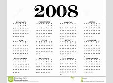 Calendar For 2008 December takvim kalender HD