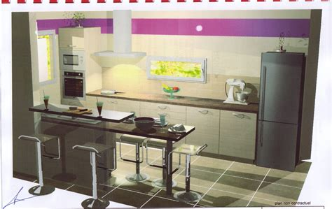cuisine équipée bon marché cuisine équipée plan 3d
