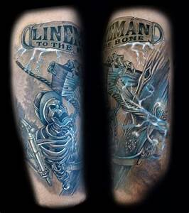 50 Lineman Tattoos For Men
