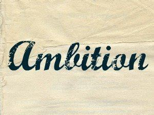 Do You Consider Yourself Ambitious? You Should! - Family ...