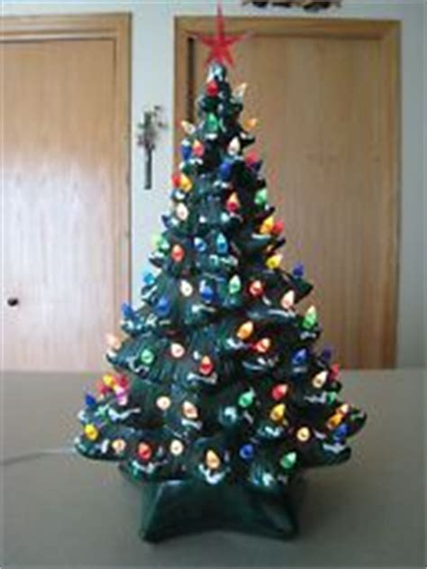 Atlantic Mold Ceramic Christmas Tree Lights by Christmas Vintage Ceramic Trees By Christmasjimd On
