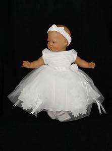 robe de ceremonie bebe fille With déco chambre bébé pas cher avec fleur blanche cheveux mariage
