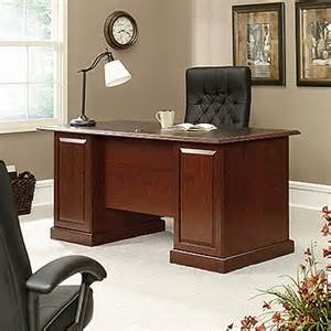 heritage hill executive desk 402159 sauder