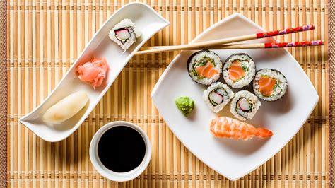 natural sushi hd wallpaper wallpaper studio  tens