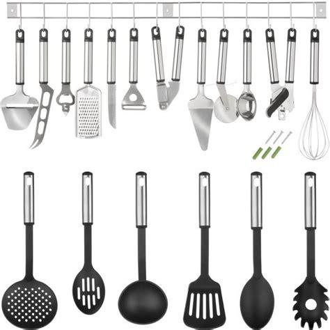 ustensiles de cuisine grenoble ustensiles de cuisine lot de 19 pièces tectake achat