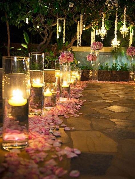40 Romantic And Whimsical Wedding Lightning Ideas Night