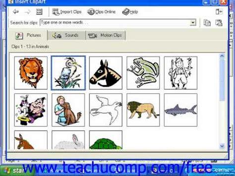 clipart microsoft office word 2003 tutorial inserting clip 2000 97 microsoft