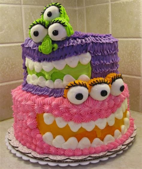 amazing but easy cakes monster cake 50 amazing and easy kids cakes mom me