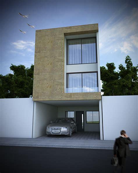 foto fachada minimalista  cantera de arquitectura