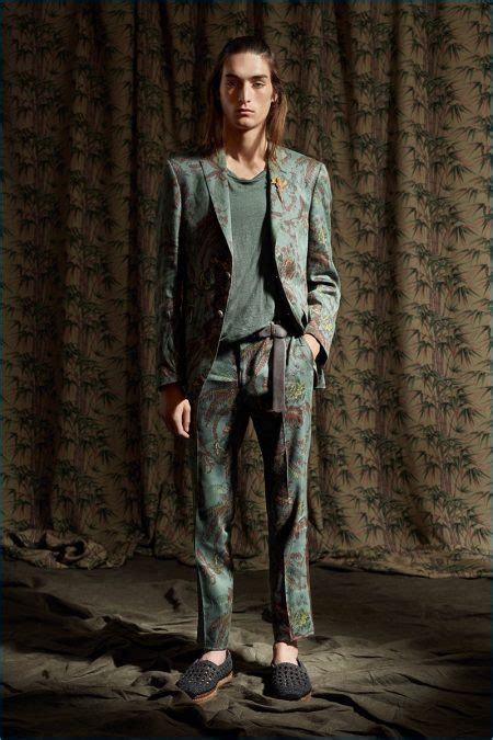 etro spring  mens collection lookbook tony
