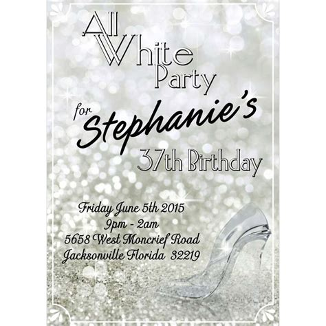 All white party Birthday Party Ideas   Photo 1 of 9 ...