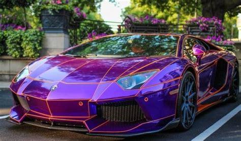 Lamborghini Aventador Dragon Edition Purple