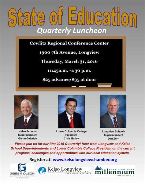 quarterly membership meeting state education kelso longview