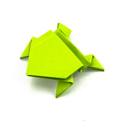 origami jumping frog origami guide