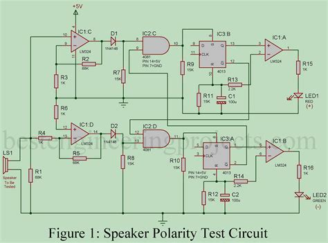 Speaker Polarity Test Circuit Engineering Projects