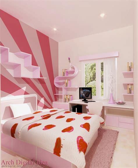Desain Warna Untuk Kamar Tidur Minimalis Dalam Rumah Rumah