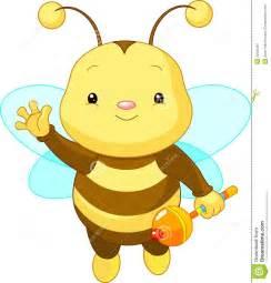 Cute Baby Bee Clip Art