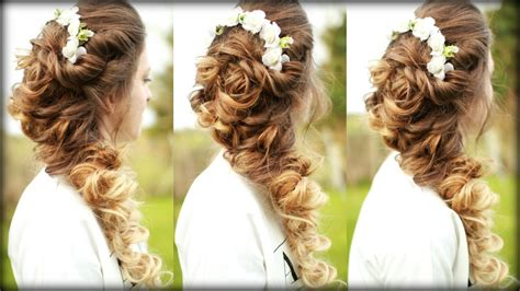 Easy Cascading Curls Hairstyle