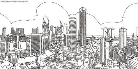 fantastic cities steve mcdonald google search coloring