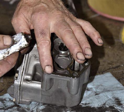 oil filter canister  block gasket change  page