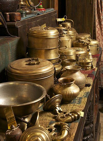 astonishing collection  brass   solid door rings  chapati canisters maiwa