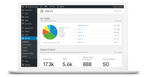 Google Presenta Il Suo Wordpress Plugin Con Analytics