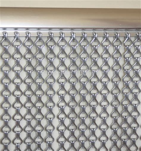 Chain Link Curtains by Aliexpress Com Buy Decorative Gunmetal Aluminum Chain