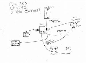 Wiring For Ford 850 Help Not Sure If Pushbutton Is Bad  - Tractor Talk Forum
