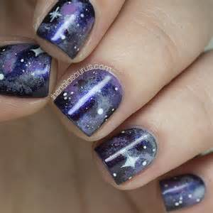 No galaxy with nail art the nailasaurus uk