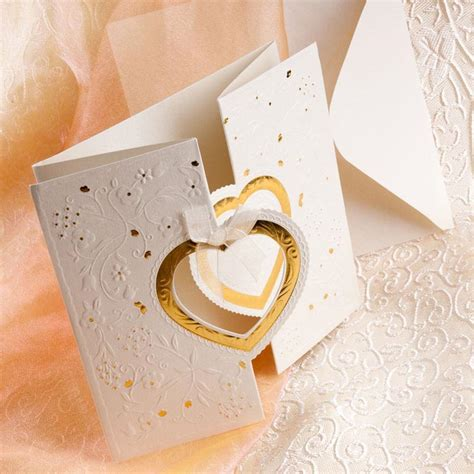 wedding invitations with hearts make use of the symbol for your wedding invitations