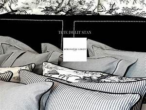 Tete De Lit Cloutée : tete de lit cloutee en velours noir stan realisations ~ Teatrodelosmanantiales.com Idées de Décoration