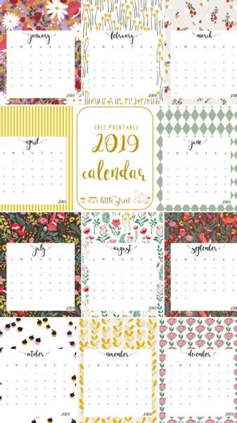 calendar printable street