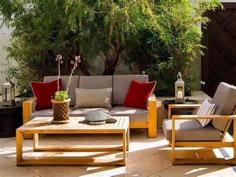 tips  making   outdoor furniture decor