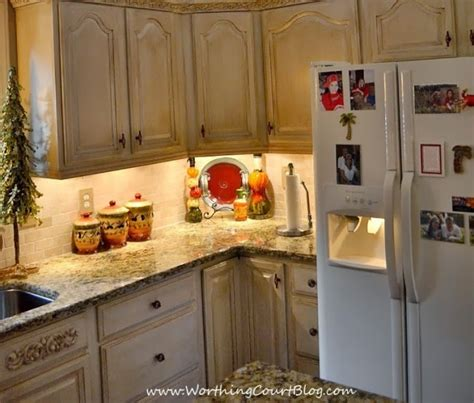 Angela's Diy French Country Kitchen Makeover  Worthing Court