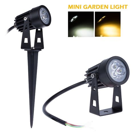 20x mini outdoor lawn light 12v led garden l 3w ip65