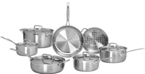 canadian tire cuisinart professional triple ply cookware