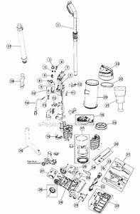 Hoover Uh70400 Parts List And Diagram   Ereplacementparts Com