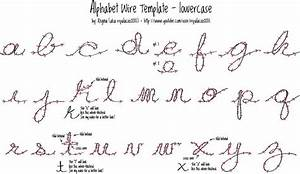 alphabet wire template lowercase to do list pinterest With wire alphabet letters