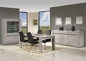 Buffet bas moderne en bois clair bahut 2017 avec meuble de for Meuble de salle a manger avec salon salle a manger moderne