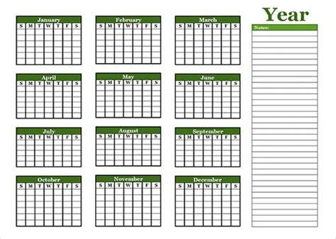 blank calendar template  premium templates